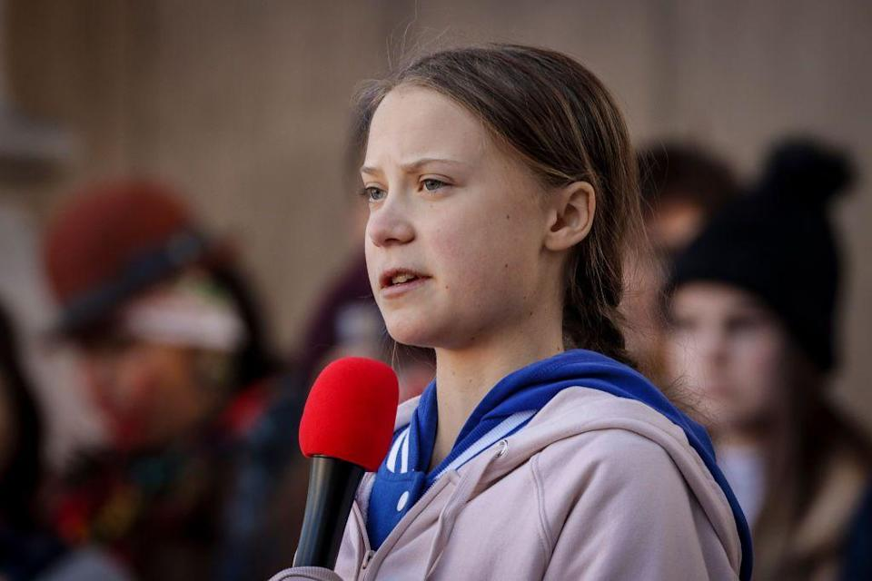 """<p>You've probably heard of this environmental activist after her passionate speech at the <a href=""""https://www.youtube.com/watch?v=TMrtLsQbaok"""" rel=""""nofollow noopener"""" target=""""_blank"""" data-ylk=""""slk:UN Climate Summit"""" class=""""link rapid-noclick-resp"""">UN Climate Summit</a>, but this 16-year-old student has been advocating for sustainability for years now. Greta began by protesting Swedish parliament in an effort to get them to do more to prevent climate change. She went on to organize Fridays for Future, a school climate strike movement. As of 2019, more than one million students around the world participated in a multi-city coordinated protest for stronger action against climate change.</p>"""