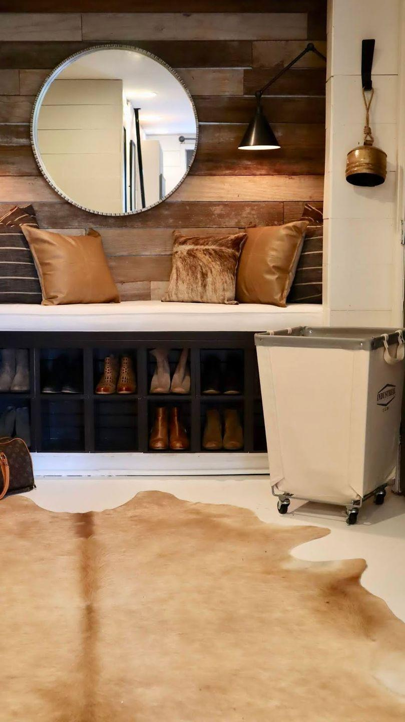 """<p>Transform your basement space by painting the floors white. Round out this chic look with a neutral color palette of black, white, and tan—with a few splashes of animal print for some extra pizazz!</p><p><strong>See more at <a href=""""http://www.mysweetsavannahblog.com/2019/10/our-finished-basement-reveal.html"""" rel=""""nofollow noopener"""" target=""""_blank"""" data-ylk=""""slk:My Sweet Savannah"""" class=""""link rapid-noclick-resp"""">My Sweet Savannah</a>.</strong></p><p><strong>SHOP ANIMAL PRINT PILLOWS<br></strong></p>"""