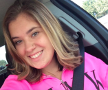 <p>Twenty-year-old Bailey Schweitzer from California is among the victims of the shooting. (Bailey Schweitzer) </p>