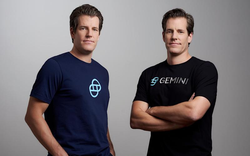 Winklevoss twins expand crypto exchange into UK