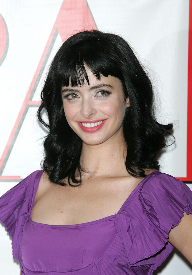 """<a href=""""http://movies.yahoo.com/movie/contributor/1808532777"""">Krysten Ritter</a> at the New York premiere of <a href=""""http://movies.yahoo.com/movie/1809973783/info"""">Confessions of a Shopaholic</a> - 02/05/2009"""