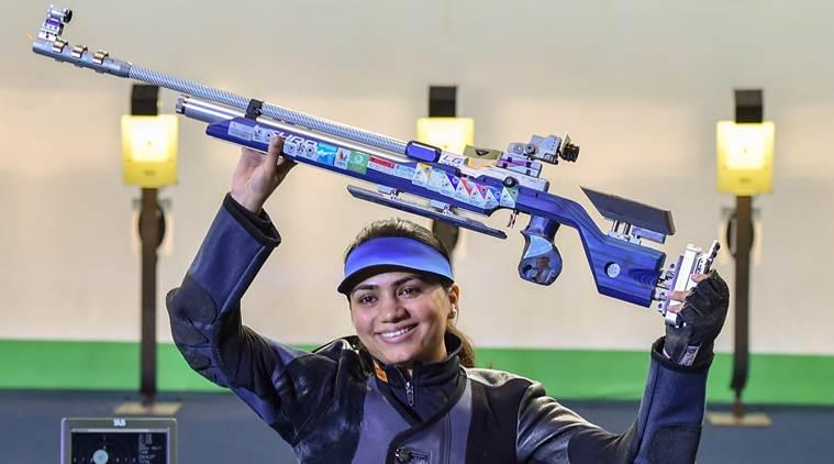 shooting world cup, apurvi chandela, apurvi chandela world cup, issf world cup, issf world cup apurvi chandela, sports news, indian express