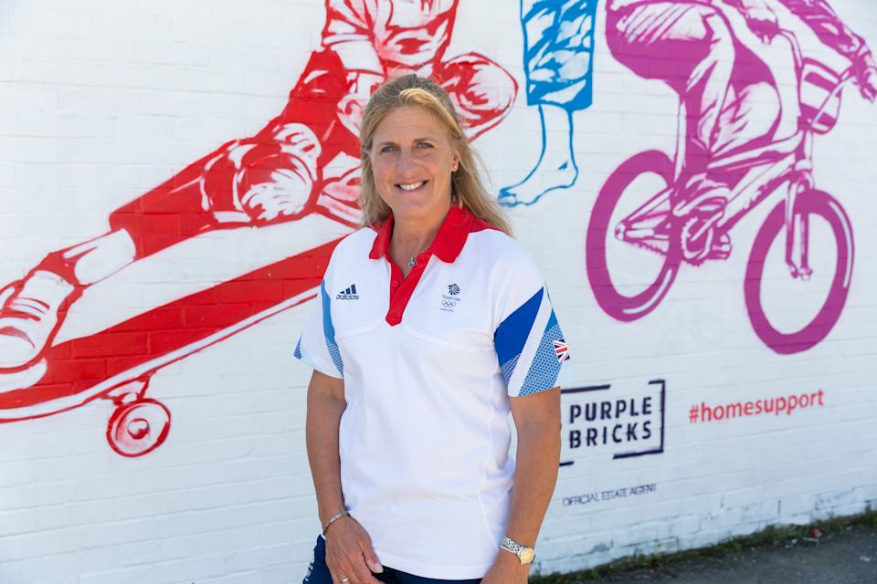 Tina Cook, 50, spoke after unveiling a mural in Hove
