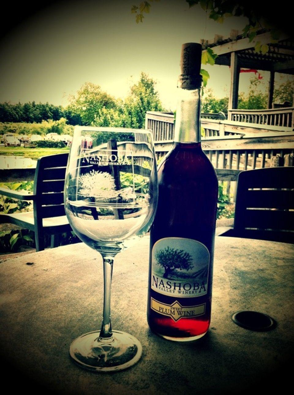 """<p><a href=""""https://foursquare.com/v/nashoba-valley-winery/49d0d1eaf964a520375b1fe3"""" rel=""""nofollow noopener"""" target=""""_blank"""" data-ylk=""""slk:Nashoba Valley Winery"""" class=""""link rapid-noclick-resp"""">Nashoba Valley Winery</a> in Bolton</p><p>""""Bring a <span class=""""entity tip_taste_match"""">picnic</span> <span class=""""entity tip_taste_match"""">lunch</span> and enjoy the <span class=""""entity tip_taste_match"""">view</span> with some <span class=""""entity tip_taste_match"""">local wine</span> and <span class=""""entity tip_taste_match"""">beers</span>.<span class=""""redactor-invisible-space"""">"""" - Foursquare user <a href=""""https://foursquare.com/davesavaria"""" rel=""""nofollow noopener"""" target=""""_blank"""" data-ylk=""""slk:David Savaria"""" class=""""link rapid-noclick-resp"""">David Savaria</a></span></p>"""