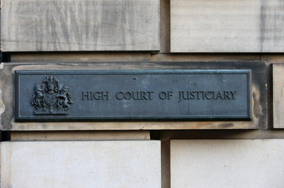 The case was heard at the High Court in Edinburgh (Andrew Milligan/PA) (PA Archive)