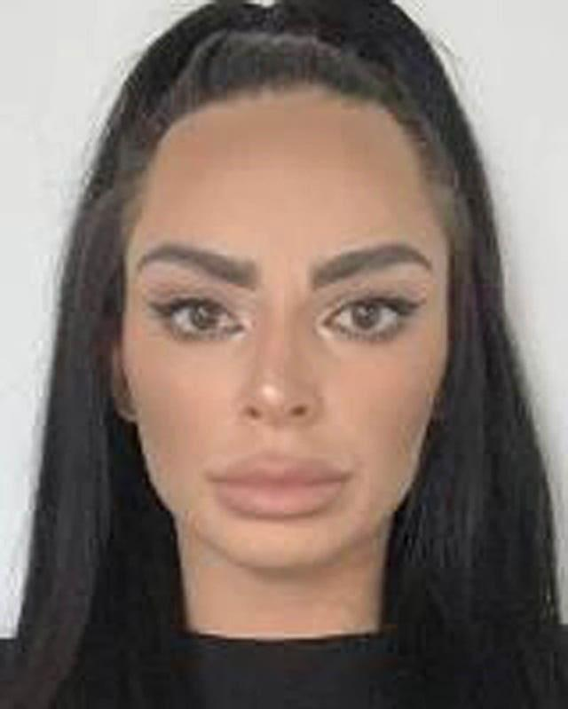 Tara Hanlon, who was stopped at Heathrow Airport with suitcases full of cash