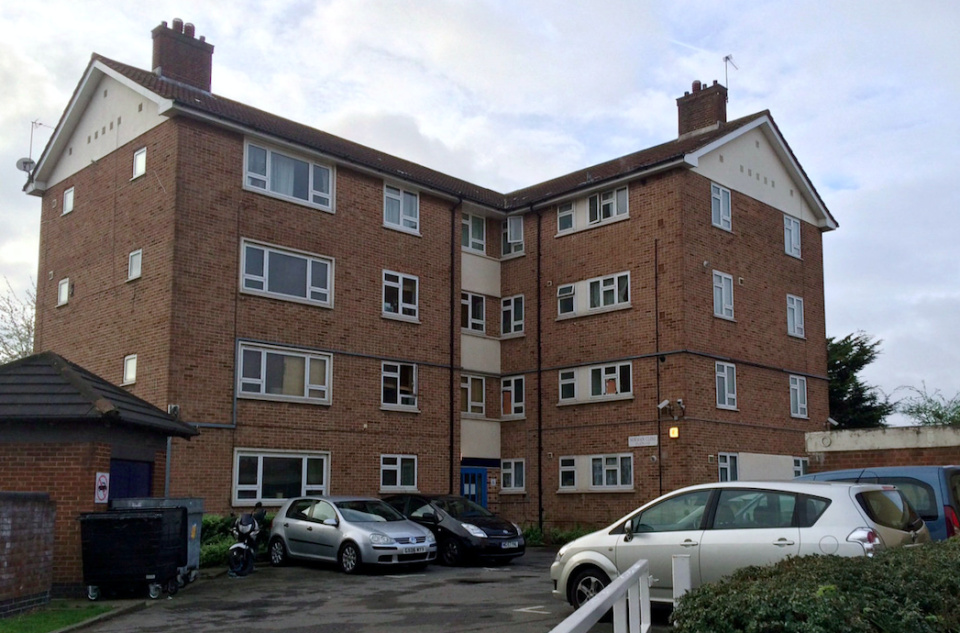 <em>Mr Perivoitos fell had an epileptic fit at a block of flats in Wood Green (SWNS)</em>