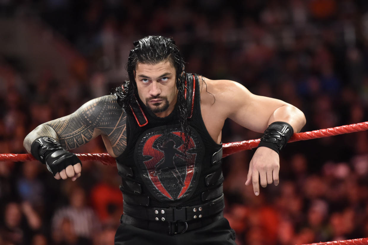 Roman Reigns will challenge Brock Lesnar for the WWE universal championship at SummerSlam. (Photo courtesy WWE)
