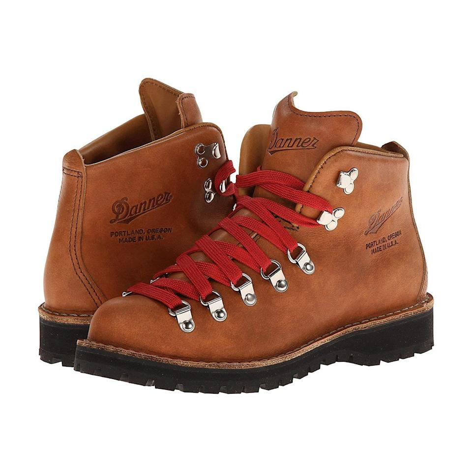 "<p><strong>Danner</strong></p><p>zappos.com</p><p><strong>$359.95</strong></p><p><a href=""https://go.redirectingat.com?id=74968X1596630&url=https%3A%2F%2Fwww.zappos.com%2Fp%2Fdanner-mountain-light-cascade%2Fproduct%2F8426459&sref=https%3A%2F%2Fwww.prevention.com%2Ffitness%2Fworkout-clothes-gear%2Fg19791835%2Fbest-hiking-shoes-for-women%2F"" rel=""nofollow noopener"" target=""_blank"" data-ylk=""slk:Shop Now"" class=""link rapid-noclick-resp"">Shop Now</a></p><p>Long beloved by hikers and made famous by Reese Witherspoon in the movie <em>Wild</em>, Danner's Oregon-made boots are <strong>serious enough for thru-hiking and pretty enough for basically everything else</strong>. ""They are by far the best looking hiking boots on the market,"" writes one Zappos customer, who hasn't gotten a single blister from their pair. ""They are extremely durable. I break everything! But the tough leather can really take a beating.""</p>"