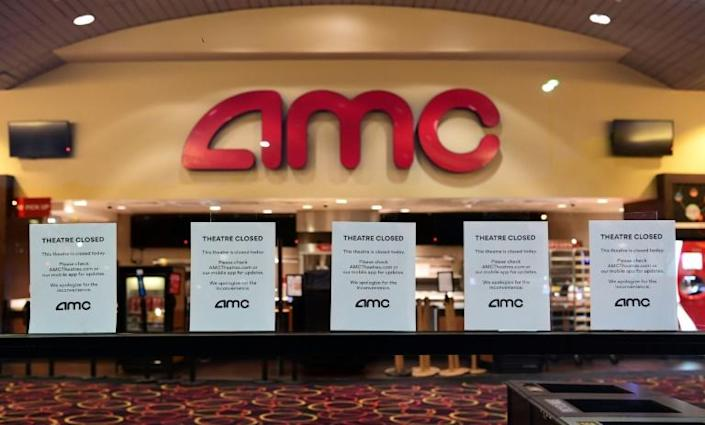 California has ordered cinemas to close again as the state reimposes restrictions to combat the spread of the coronavirus (AFP Photo/Frederic J. BROWN)