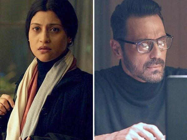 Images of Konkana and Arjun from the film 'The Rapist' (Image source: Twitter)