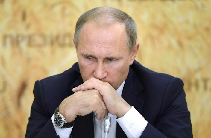 Russian President Vladimir Putin is facing growing international criticism over his military campaign in Syria, which some Western states claim conflicts with their intervention (AFP Photo/Alexei Nikolsky)