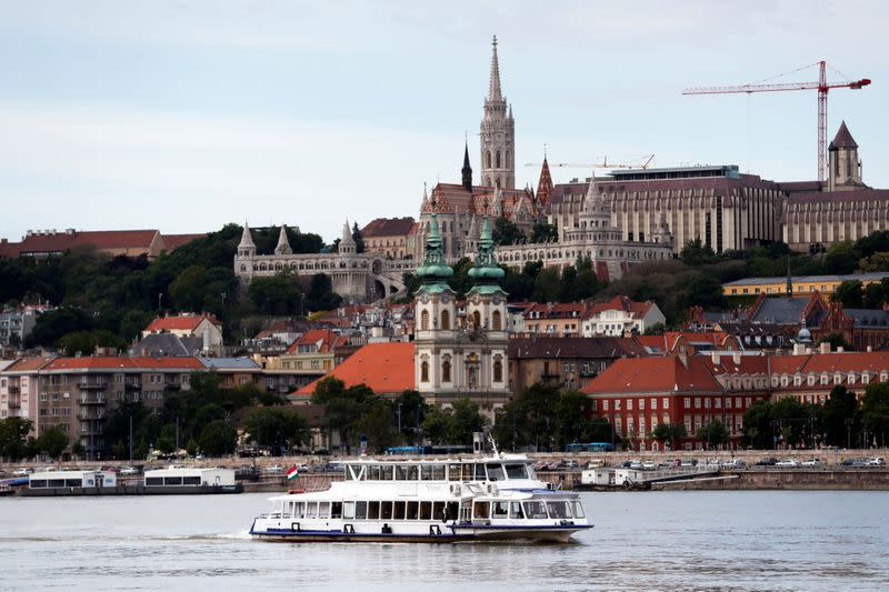 The 2nd anniversary of the boat accident on the Danube river, in Budapest