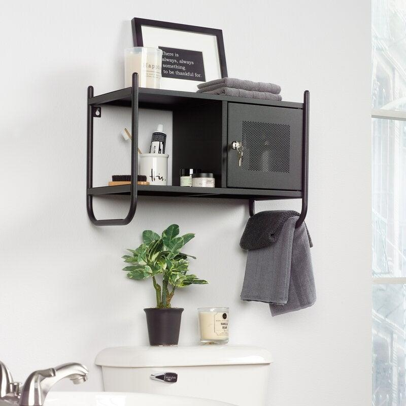 "<h3><a href=""https://www.wayfair.com/storage-organization/pdp/williston-forge-cherita-2095-w-x-1457-h-x-108-d-wall-mounted-bathroom-cabinet-w000734576.html"" rel=""nofollow noopener"" target=""_blank"" data-ylk=""slk:Williston Forge Wall-Mounted Bathroom Cabinet"" class=""link rapid-noclick-resp"">Williston Forge Wall-Mounted Bathroom Cabinet</a></h3><br><strong>When your bathroom can't contain your beauty routine</strong>: This wall-mountable bathroom cabinet is the answer to containing your overload of personal products — from hair to skincare, beauty essentials, and more — in chic-locker style.<br><br><strong>Williston Forge</strong> Cherita Wall Mounted Bathroom Cabinet, $, available at <a href=""https://go.skimresources.com/?id=30283X879131&url=https%3A%2F%2Fwww.wayfair.com%2Fstorage-organization%2Fpdp%2Fwilliston-forge-cherita-2095-w-x-1457-h-x-108-d-wall-mounted-bathroom-cabinet-w000734576.html"" rel=""nofollow noopener"" target=""_blank"" data-ylk=""slk:Wayfair"" class=""link rapid-noclick-resp"">Wayfair</a>"