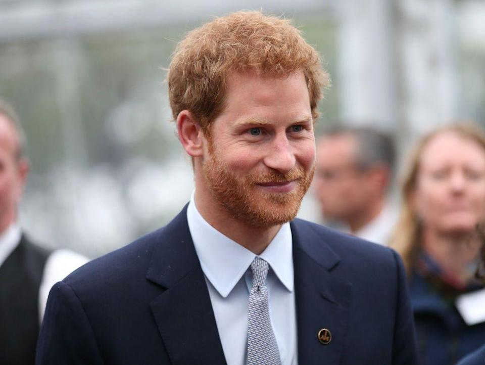 """<p><strong>Real name: Henry Charles Albert David</strong></p><p>Harry is actually just a nickname, as proved by the official engagement announcement on the Prince's website, <a href=""""https://www.princehenryofwales.org/"""" rel=""""nofollow noopener"""" target=""""_blank"""" data-ylk=""""slk:www.princehenryofwales.org"""" class=""""link rapid-noclick-resp"""">www.princehenryofwales.org</a>, which reads """"<span class=""""redactor-unlink"""">Prince Henry of Wales & Meghan Markle are engaged to be married</span>."""" </p>"""