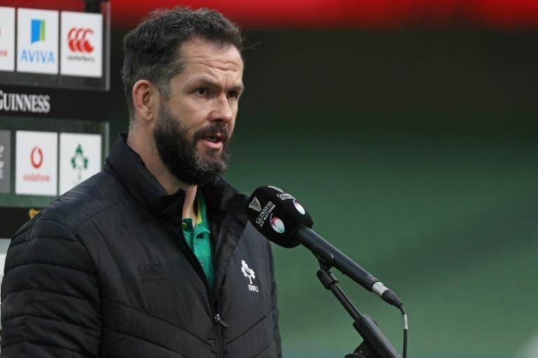 Andy Farrell took over from Joe Schmidt as Ireland head coach after the 2019 Rugby World Cup