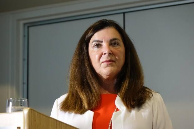 Memorial University president Vianne Timmons announced an unprecedented tuition hike on Friday for future students of Newfoundland and Labrador's only university. (Patrick Butler/Radio-Canada - image credit)