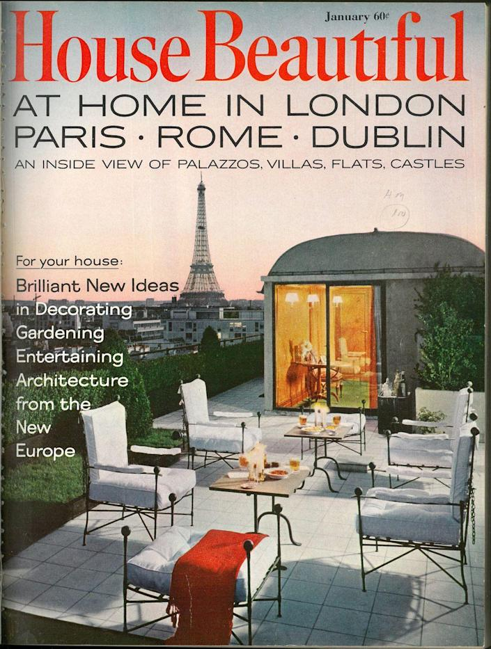 <p>When wanderlust meets design, brilliant ideas happen, and this cover is giving me inspiration for when I buy a vacation home in Europe.</p>