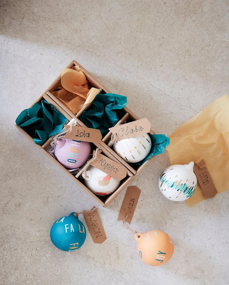 "<p>Nothing says merry Christmas like a beautiful hand-painted Christmas bauble. Over 7,200 ceramic baubles sold in the first week, proving that many of us are wanting to get creative this season. It's the perfect plastic-free stocking filler. </p><p>""In the first week of launch, over 7,200 ceramic baubles were sold. The baubles are plain ceramic and are popular with customers who make, design and personalise to sell on, online,"" says the team.</p><a class=""body-btn-link"" href=""https://www.hobbycraft.co.uk/ceramic-baubles-with-jute-6-pack/649777-1000"" target=""_blank"">SHOP CERAMIC BAUBLES</a>"