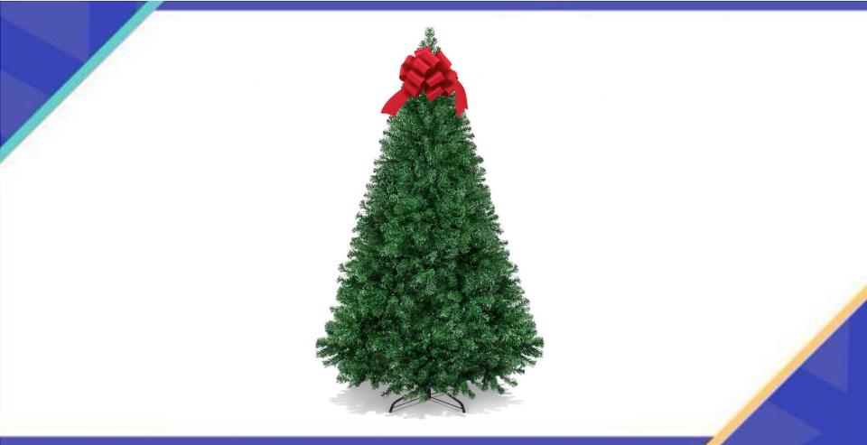 O Tannenbaum, O Tannenbaum—your price is so amazing. (Photo: Walmart)