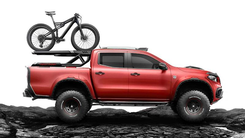 Carlex Design Mercedes-Benz X-Class Bicycle Rack