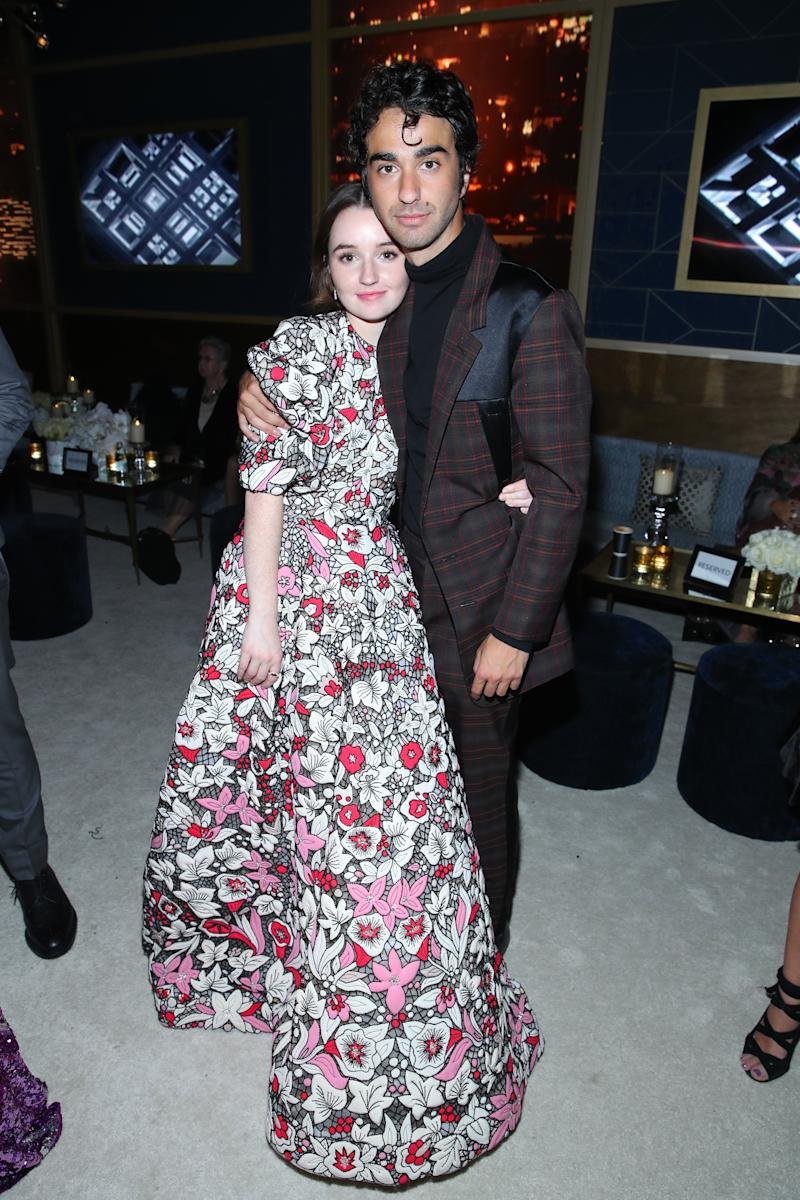 Kaitlyn Dever and Alex Wolff