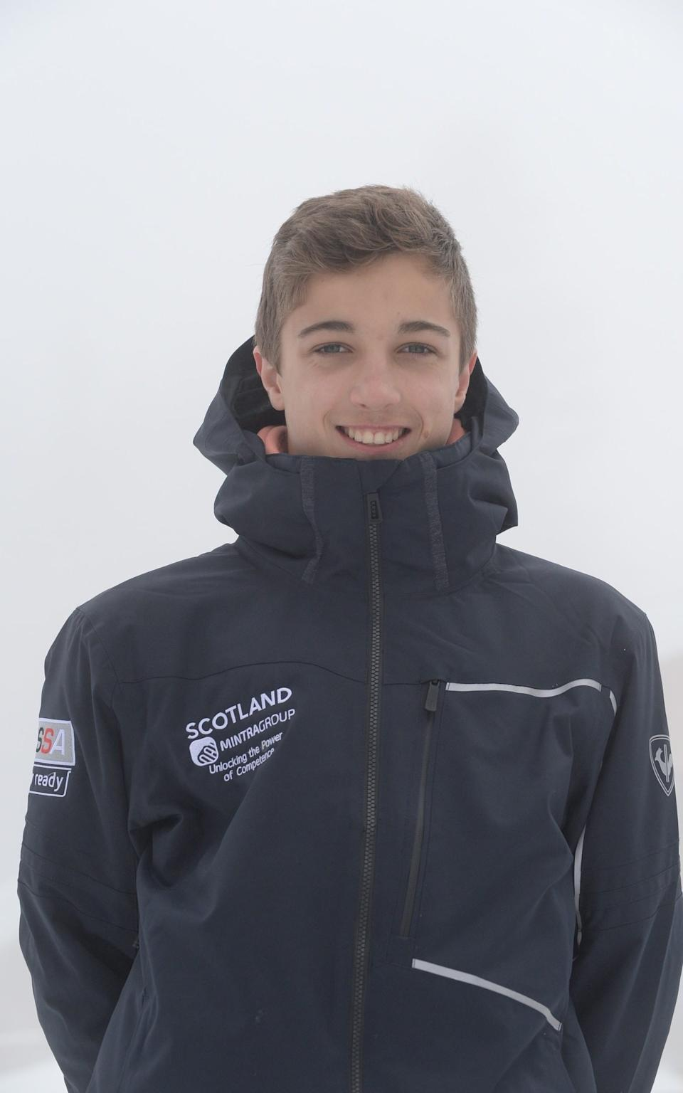 Jonny Marshall, who his father said had studied hard despite being part of the member of the Scottish Alpine Ski Team - Robert Marshall/submitted
