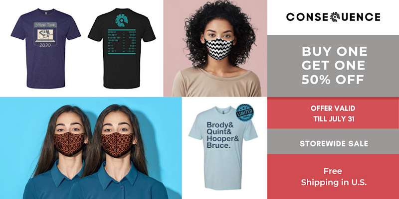 Flash Sale: Buy One, Get One 50% Off at Consequence Store