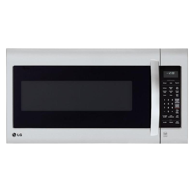 LG Electronics Stainless Steel Over-the-Range Microwave