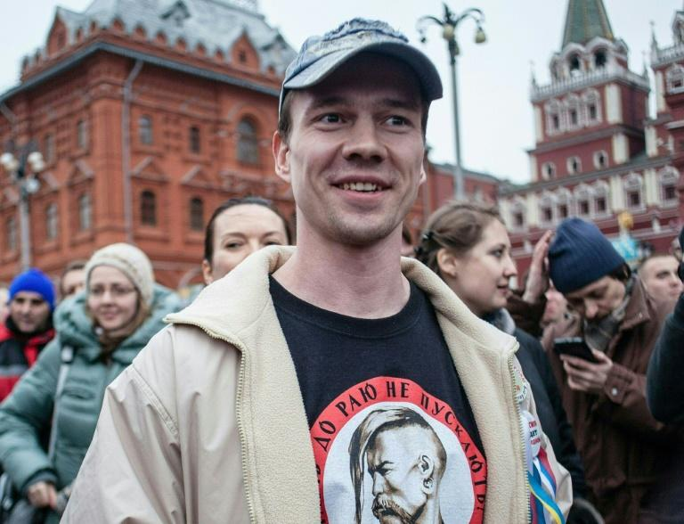 Ildar Dadin is the first and only person in Russia to have served time for contravening a tough law clamping down on protests in the country