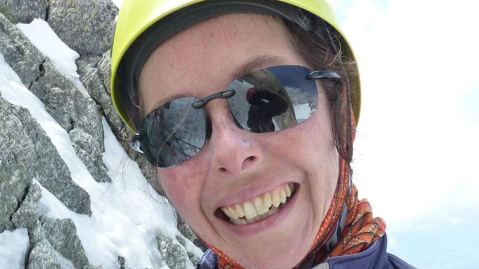 A Facebook photo of Sydney mountaineer Ruth McCance who is missing in the Himalayas after a reported avalanche.