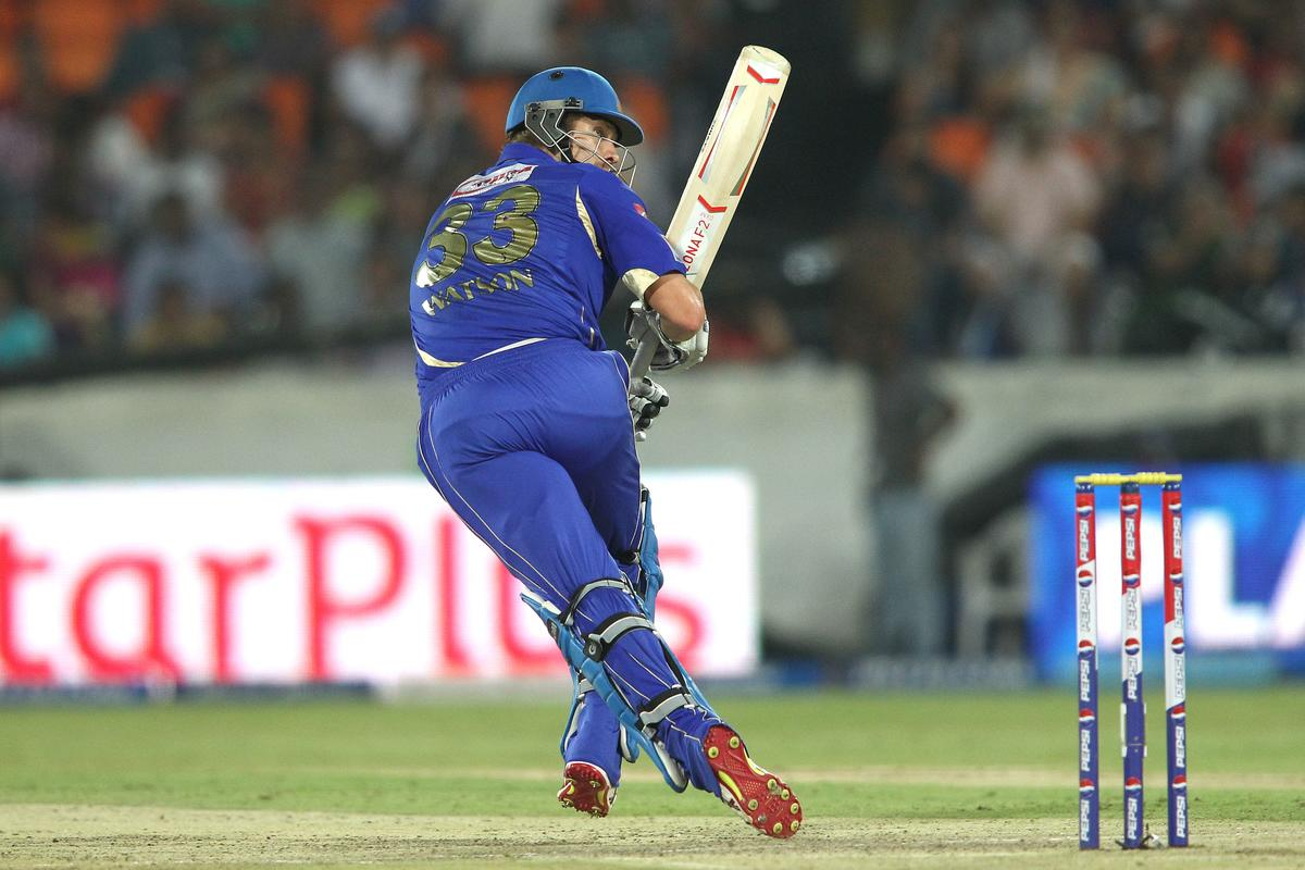 Shane Watson of Rajasthan Royals sets off for a run during match 68 of the Pepsi Indian Premier League between The Sunrisers Hyderabad and The Rajasthan Royals held at the Rajiv Gandhi International Stadium, Hyderabad  on the 17th May 2013..Photo by Shaun Roy-IPL-SPORTZPICS ..Use of this image is subject to the terms and conditions as outlined by the BCCI. These terms can be found by following this link:..https://ec.yimg.com/ec?url=http%3a%2f%2fwww.sportzpics.co.za%2fimage%2fI0000SoRagM2cIEc&t=1503215837&sig=96fJ_0T4.vQ22exSsUdemQ--~D