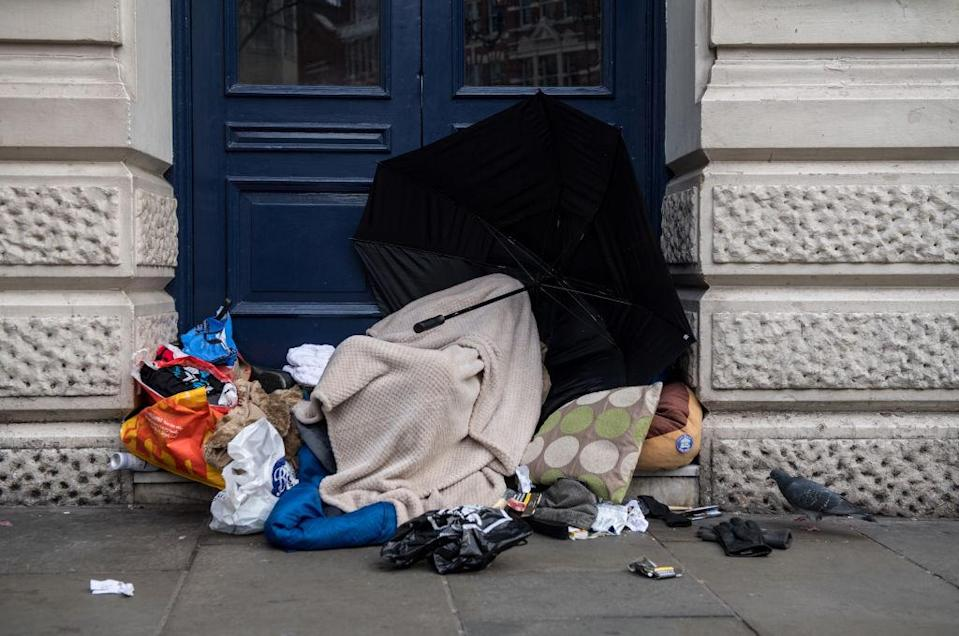 More than 9,000 people are sleeping rough (Picture: Getty)