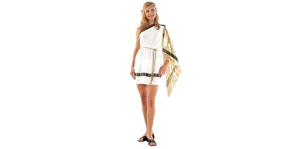 """<p>Alternatively, you could just wrap yourself in a sheet. Either works. </p><p><a rel=""""nofollow"""" href=""""https://www.amazon.co.uk/Ladies-Goddess-Ancient-Costume-Outfit/dp/B00SJJ6OPE/ref=sr_1_2?s=kids&ie=UTF8&qid=1534776808&sr=1-2&keywords=toga+fancy+dress"""">BUY NOW</a> Ladies Roman Goddess Ancient Greek Toga, £8.70, Amazon</p>"""