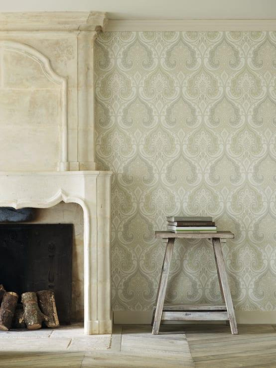 """<p>For older houses or those with classically elegant interior design schemes throughout, traditional wallpaper motifs are the natural choice for a<a rel=""""nofollow"""" href=""""https://www.homify.co.uk/rooms/bedroom"""">bedroom</a>. Paisleys and brocades are particularly effective, especially when textural finishes, such as sateen or flocking is brought into play and muted tones are a must.</p><p>It might sound a little redundant to choose neutral wallpaper colours, but using patterns to add a little variety instead of vibrancy will allow for a striking effect but in a manageable and long-lasting way. Bolder styles are great, but it can get difficult to live with them.</p>  Credits: homify / Mister Smith Interiors"""