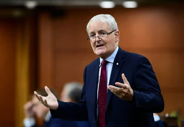 Marc Garneau answers a question during question period in the House of Commons on Parliament Hill in Ottawa on Tuesday, Oct. 6, 2020. THE CANADIAN PRESS/Sean Kilpatrick (Sean Kilpatrick/The Canadian Press - image credit)