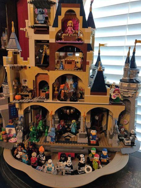 PHOTO: John Daugherty spent over 300 hours building the happiest place on earth out of LEGOs. (John Daugherty)