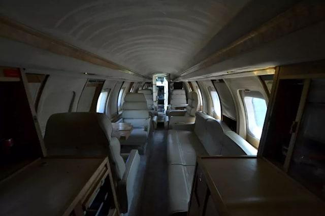 Private jet listed on Airbnb