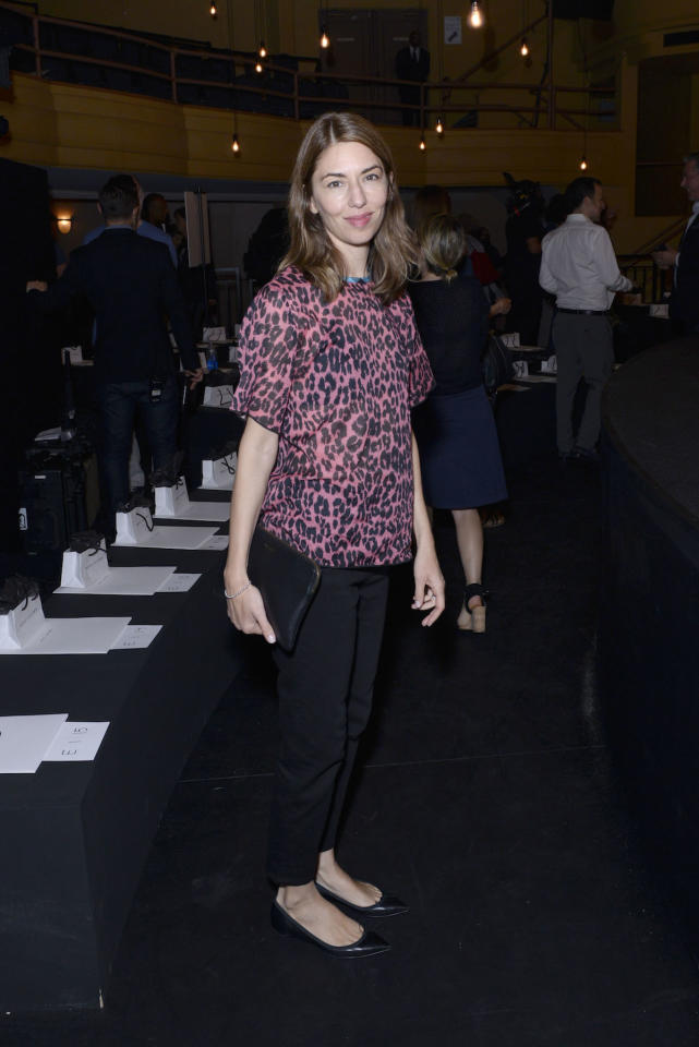<p>NEW YORK, NY – SEPTEMBER 15: Sofia Coppola attends the Marc Jacobs SS17 fashion show front row during New York Fashion Week at the Hammerstein Ballroom on September 15, 2016 in New York City. (Photo by Presley Ann/Patrick McMullan via Getty Images) </p>