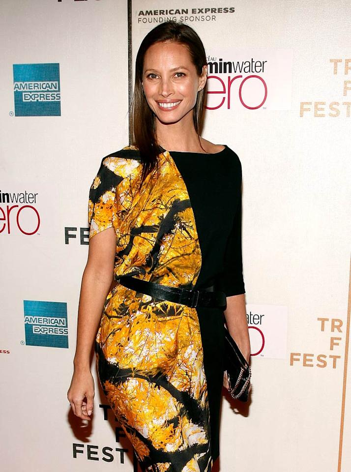 """January 2: Christy Turlington turns 42 Joe Kohen/<a href=""""http://www.gettyimages.com/"""" target=""""new"""">GettyImages.com</a> - April 23, 2010"""