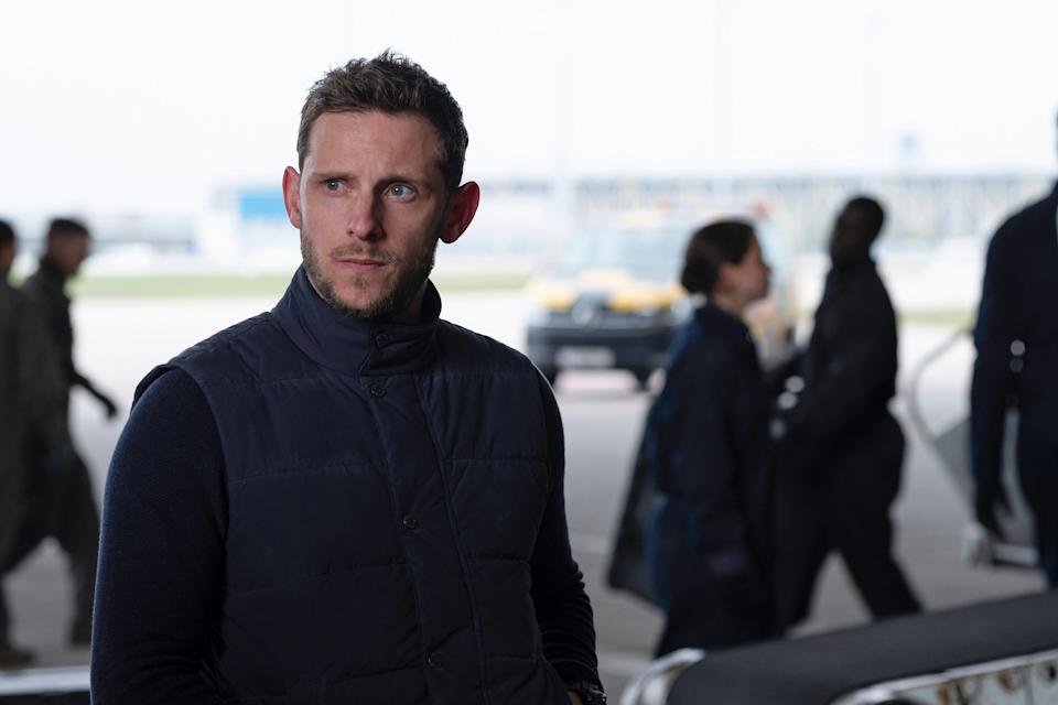 Jamie Bell is all knackered smirk as a CIA agentAP