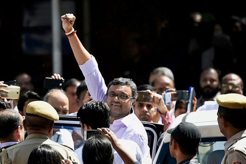 ED asked not to arrest Karti Chidambaram for now