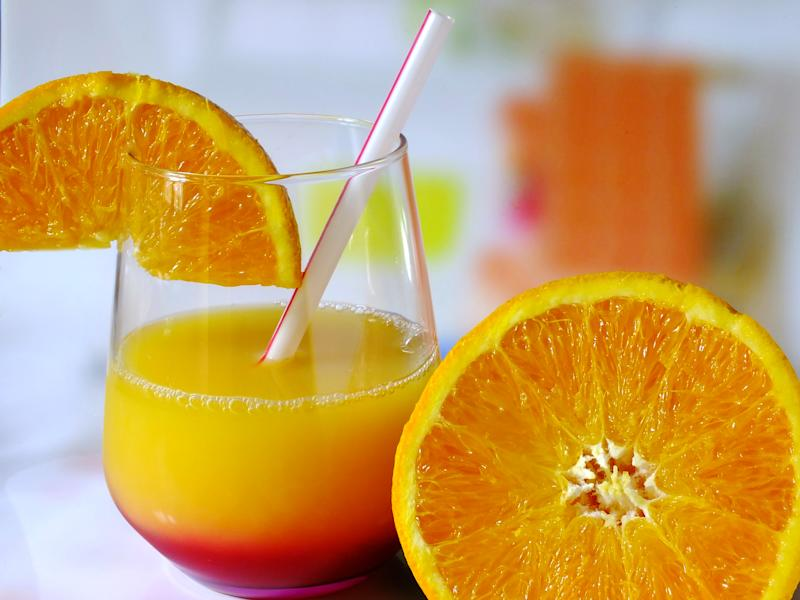 Orange juice. (Photo by: Houin/BSIP/Universal Images Group via Getty Images)