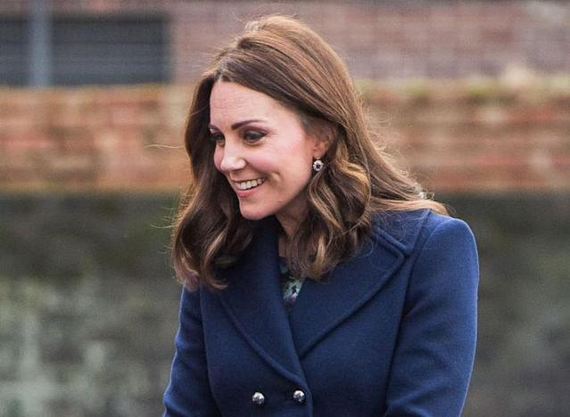 The Duchess of Cambridge visited Reach Academy in West London on Wednesday afternoon. (Photo: Getty Images)