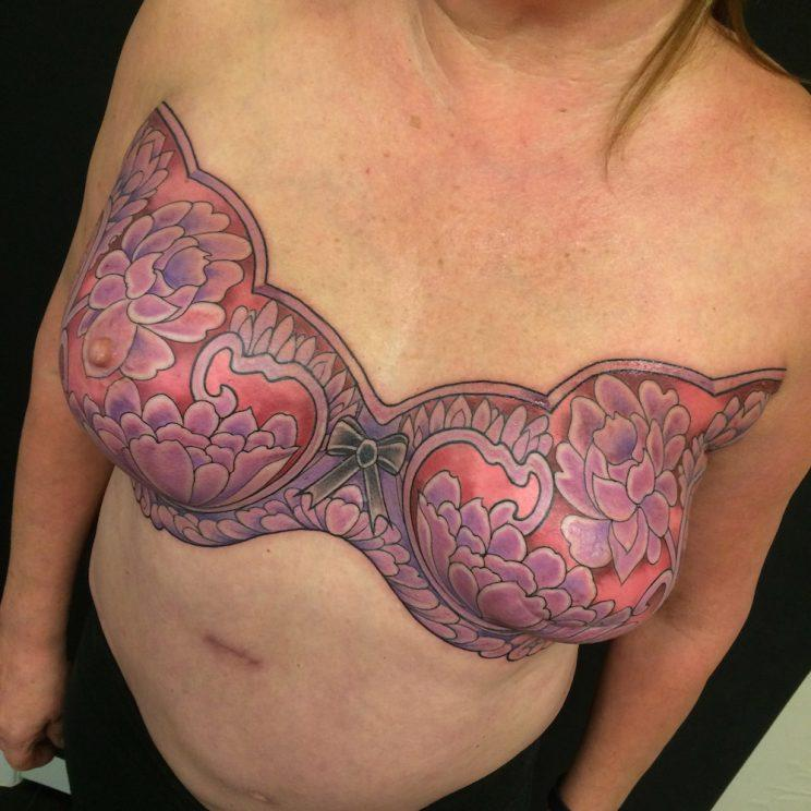 e61638e28 Some of the Most Amazing and Inspiring Mastectomy Tattoos Ever