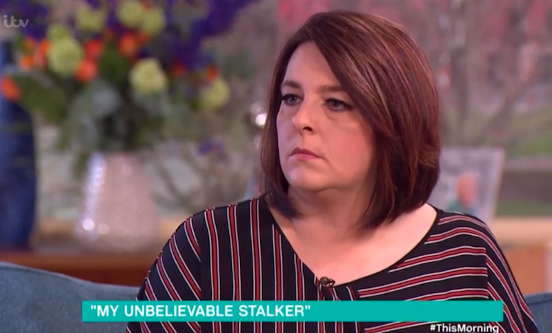 When Amanda found out who her stalker was she was in shock. Photo: ITV