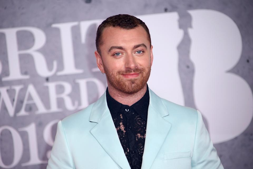 """Sam Smith said their hair had been a """"touchy place"""" before getting the surgery. (Photo: Joel C Ryan/Invision/AP)"""