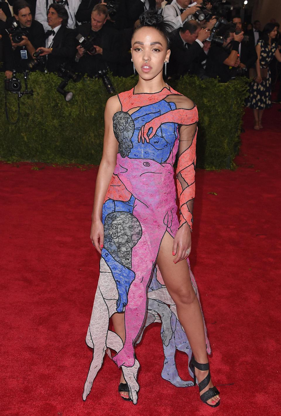 """<h1 class=""""title"""">FKA Twigs in Christopher Kane, 2015</h1><cite class=""""credit"""">Photo: Getty Images</cite>"""