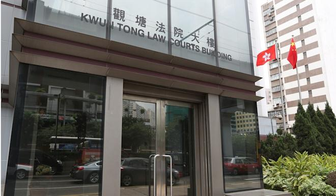 The defendant appeared at Kwun Tong Court. Photo: SCMP