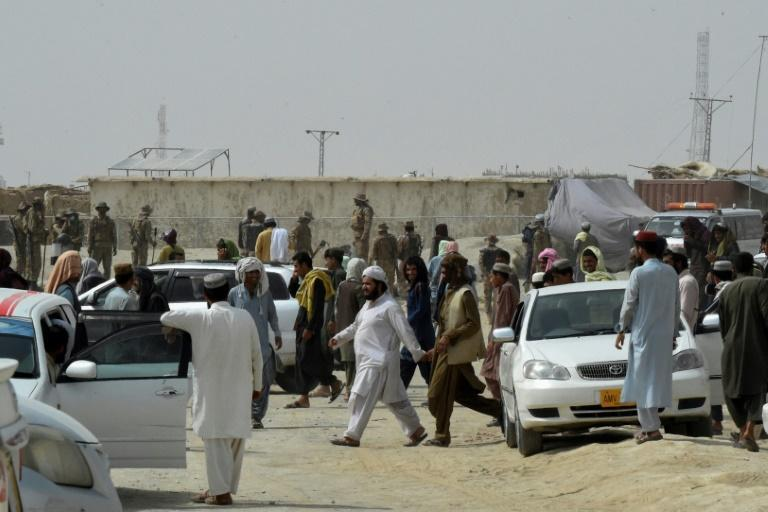 A spokesman for Pakistan's Foreign Ministry confirmed that the Taliban has seized the Afghan side of the border